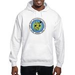 HFPACK Hooded Sweatshirt, Front&Back grey or white
