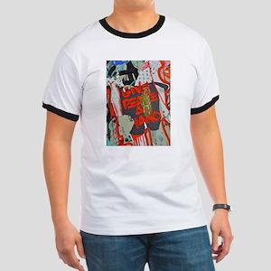 New York Graffiti: Give Peace a Chance T-Shirt