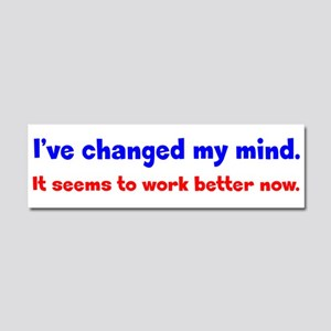 A Better Mind Car Magnet 10 x 3