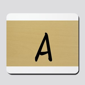 A, Your name in Japanese Katakana system Mousepad