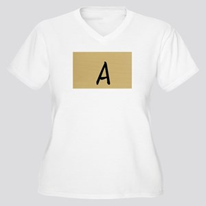 A, Your name in Japanese Katakana system Plus Size