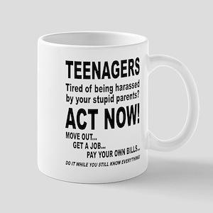 Teenagers being harassed Mug