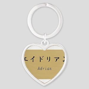 Adrian, Your name in Japanese Katakana system Keyc