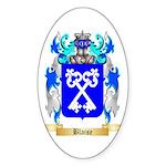 Blaise Sticker (Oval 50 pk)