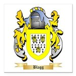 Blagg Square Car Magnet 3