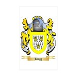 Blagg Sticker (Rectangle 50 pk)