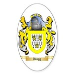 Blagg Sticker (Oval 10 pk)