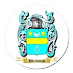 Blackwood Round Car Magnet