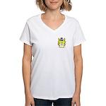 Blackman Women's V-Neck T-Shirt
