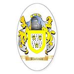 Blackman Sticker (Oval 50 pk)