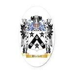 Blackett Oval Car Magnet