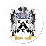 Blackett Round Car Magnet