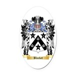 Blacket Oval Car Magnet