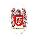 Blackely Oval Car Magnet