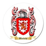 Blackely Round Car Magnet