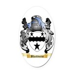 Blackburne Oval Car Magnet