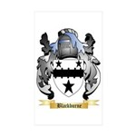 Blackburne Sticker (Rectangle 50 pk)