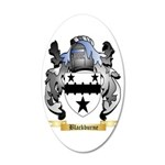 Blackburne 35x21 Oval Wall Decal
