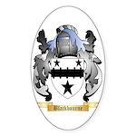 Blackbourne Sticker (Oval 10 pk)
