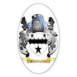 Blackbourne Sticker (Oval 50 pk)