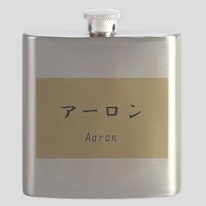 Aaron, Your name in Japanese Katakana System Flask