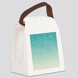 Sparkling Aqua Sea Canvas Lunch Bag