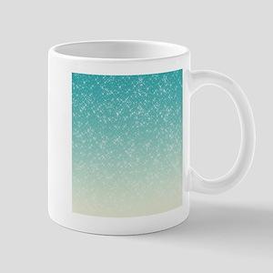 Sparkling Aqua Sea Mug