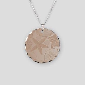 Peach shells Necklace