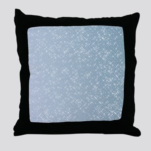 Sparkling Blue Throw Pillow