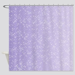 Sparkling Lilac Shower Curtain