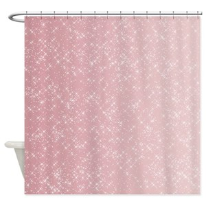 Sparkly Shower Curtains
