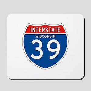 Interstate 39 - WI Mousepad