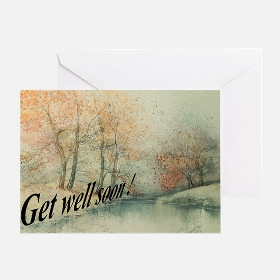 Get Well Soon Country Greeting Card