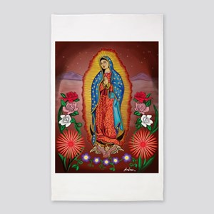 Virgin of Guadalupe 3'x5' Area Rug