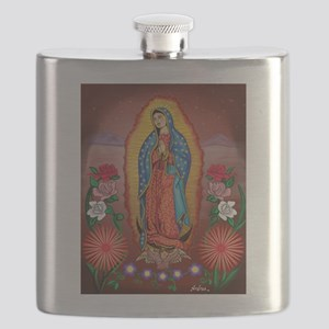 Virgin of Guadalupe Flask