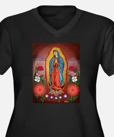 Virgin of Guadalupe Plus Size T-Shirt