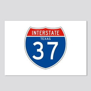 Interstate 37 - TX Postcards (Package of 8)