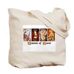 Queens of Tarot & High Priestess Tote