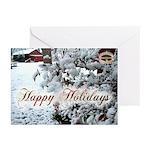 12 05 holiday Calendar Greeting Card
