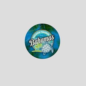 Bahamas button Mini Button