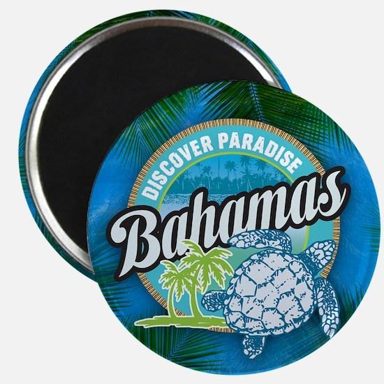 Bahamas button Magnet