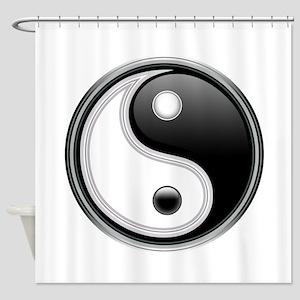 Yin-Yang Shower Curtain