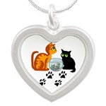 KIttys At Play Necklaces