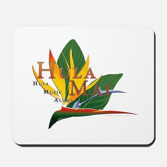 Hula Mai logo Mousepad
