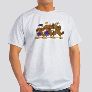 Eagle Trio Ash Grey T-Shirt