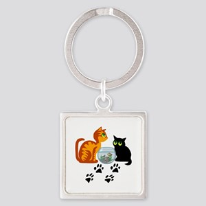 KIttys At Play Keychains