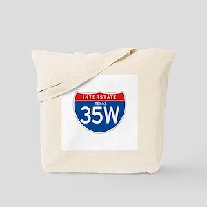 Interstate 35W - TX Tote Bag
