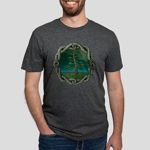 Celtic knot Mens Tri-blend T-Shirt