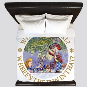 MAD HATTER - WHY BE NORMAL? King Duvet