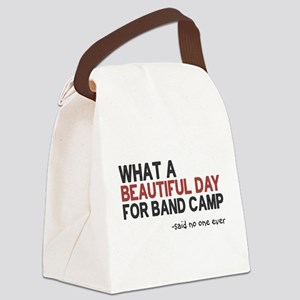 Band Camp Canvas Lunch Bag